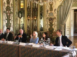INCONTRI IN AMBASCIATA E IIC PER IL DG VINCENZO DE LUCA (DGSP) A PARIGI
