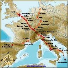 "IN PUGLIA IL CONVEGNO ""FRANCIGENA: VIA PER ROMA, SANTIAGO, GERUSALEMME"""