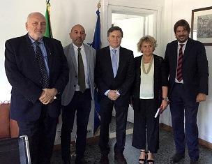 DELEGAZIONE DELL'ISTITUTO INTERAMERICANO DI COOPERAZIONE PER L'AGRICOLTURA IN VISITA ALL'AICS