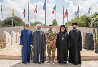 LIBANO: RELIGIOSI PER LA PROMOZIONE DELLA PACE NELLA BASE ITALIANA A SHAMA