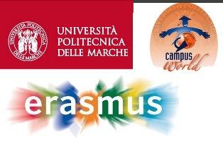 ERASMUS+ TRAINEESHIP E CAMPUSWORLD: APERTO IL NUOVO BANDO DELL'UNIVERSITÀ POLITECNICA DELLE MARCHE