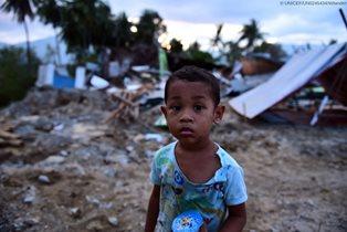 APPELLO UNICEF PER L'INDONESIA: SERVONO 26,6 MILIONI DI DOLLARI PER AIUTARE 475 MILA BAMBINI COLPITI DAI TERREMOTI