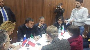 IL MINISTRO CENTINAIO IN VISITA IN RUSSIA