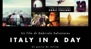 """ITALY IN A DAY"" DI GABRIELE SALVATORES ALL'IIC DI LUBIANA"