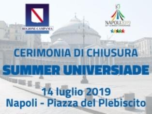 UNIVERSIADE NAPOLI 2019: CONCLUSO L'INCONTRO CON LE DELEGAZIONI INTERNAZIONALI