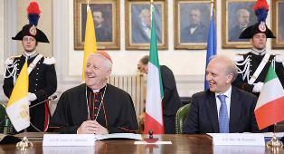 UNIVERSITÀ: FIRMATO ACCORDO ITALIA-SANTA SEDE PER IL RECIPROCO RICONOSCIMENTO DEI TITOLI DI STUDIO DELLA FORMAZIONE SUPERIORE