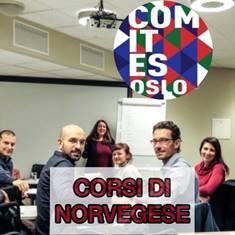 APERTE LE ISCRIZIONI AI NUOVI CORSI DI NORVEGESE DEL COMITES DI OSLO