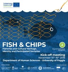 INTERREG GRECIA-ITALIA: PARTE IL PROGETTO FISH&CHIPS