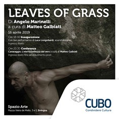 LEAVES OF GRASS: A BOLOGNA LA MOSTRA DI ANGELO MARINELLI