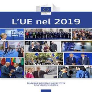 DALL'UE L'EDIZIONE 2019 DELLA RELAZIONE GENERALE SULLE ATTIVITÀ DELL