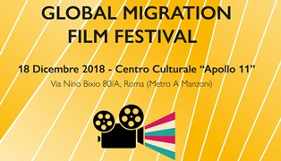 A ROMA IL GLOBAL MIGRATION FILM FESTIVAL DELL'OIM