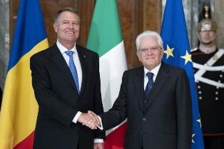 ITALIA – ROMANIA: MATTARELLA INCONTRA IL PRESIDENTE IOHANNIS