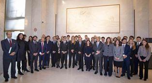 IL MINISTRO MOAVERO MILANESI SALUTA 33 GIOVANI NEO-DIPLOMATICI