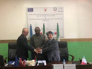 L'UE E L'ITALIA PROMOVUONO SALUTE E SERVIZI WASH NEGLI STATI ORIENTALI DEL SUDAN