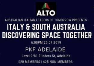 AD ADELAIDE L'EVENTO CHE CONNETTE ITALIA E AUSTRALIA NEL SETTORE SPAZIALE