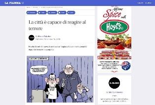 LA CITTÀ È CAPACE DI REAGIRE AL TERRORE – di Marco Patavino
