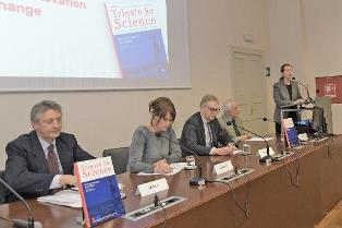 TRIESTE FOR SCIENCE: PADULA (DGSP) ALLA PRESENTAZIONE DEL VOLUME