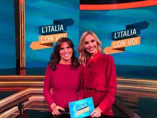 """RAI ITALIA: GLI OSPITI DELLA NUOVA PUNTATA DE """"L'ITALIA CON VOI"""""""