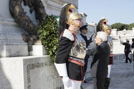 4 NOVEMBRE: MATTARELLA ALLE CELEBRAZIONI A ROMA E TRIESTE