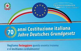 70 ANNI DI COSTITUZIONE ITALIANA: IN GERMANIA LE CELEBRAZIONI DELL'ISTITUTO IAL-CISL