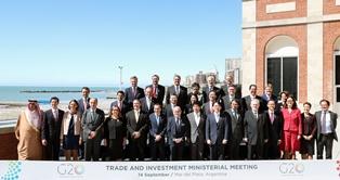 GERACI A MAR DEL PLATA PER IL PRIMO G-20 DEL COMMERCIO