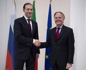 MOAVERO E MANTUROV AL CONSIGLIO ITALO-RUSSO PER LA COOPERAZIONE ECONOMICA, INDUSTRIALE E FINANZIARIA
