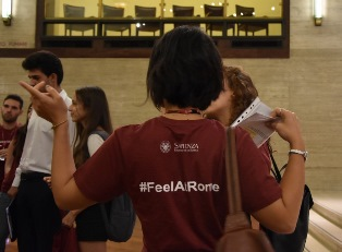 "STUDENTI STRANIERI A ""LA SAPIENZA"": DA OGGI LA QUINTA EDIZIONE DELL'INTERNATIONAL STUDENT WELCOME WEEK"
