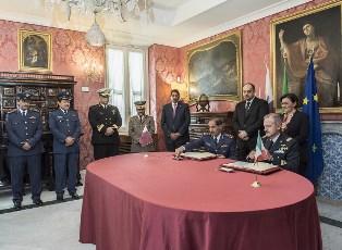 DIFESA: FIRMATO ACCORDO PER LA FORMAZIONE TRA ITALIA E QATAR