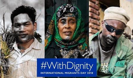 #WITHDIGNITY: GIORNATA INTERNAZIONALE DEL MIGRANTE