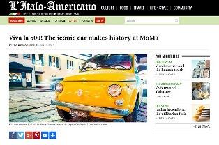 VIVA LA 500! L'ICONICA AUTOMOBILE FA LA STORIA AL MoMa – di Francesca Bezzone