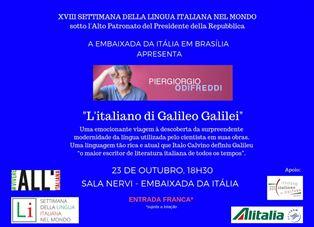 L'ITALIANO DI GALILEI: PIERGIORGIO ODIFREDDI A BRASILIA