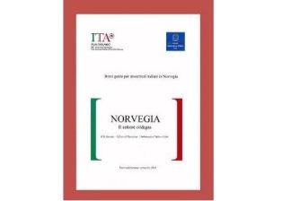 """ONLINE LA """"GUIDA PER INVESTITORI ITALIANI IN NORVEGIA"""" PUBBLICATA DA AMBASCIATA E ICE DI OSLO"""
