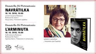 DONATELLA DI PIETRANTONIO A PRAGA PER LA SETTIMANA DELLA LINGUA ITALIANA NEL MONDO