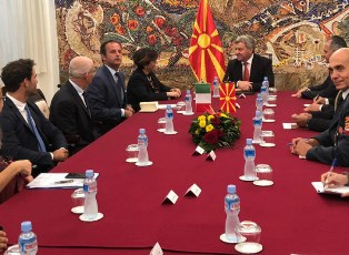 IL MINISTRO TRENTA IN MACEDONIA