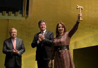 """MARIA FERNANDA ESPINOSA: NEI DIRITTI UMANI IL """"CUORE PULSANTE"""" DELL'ONU – di Stefano Vaccara"""