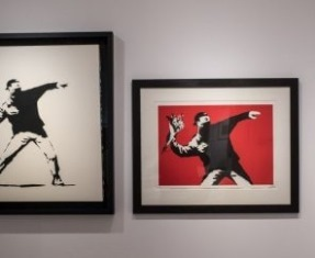 """A VISUAL PROTEST. THE ART OF BANKSY"" AL MUDEC DI MILANO"