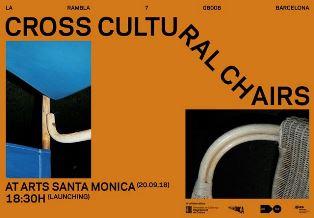 CROSS CULTURAL CHAIRS: IL PROGETTO DI MATTEO GUARNACCIA A BARCELLONA