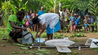 UNICEF: A VANUATU I VACCINI ARRIVANO CON I DRONI