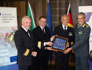 ALL'ITALIA LA PRESIDENZA DELLO EUROPEAN COAST GUARD FUNCTIONS FORUM