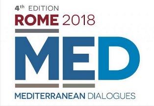 MATTARELLA E MOAVERO MILANESI APRONO A ROMA IL FORUM ROME MED 2018 – MEDITERRANEAN DIALOGUES