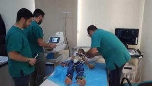 MISURATA: VISITE MULTISPECIALISTICHE DEI MEDICI ITALIANI PER I BAMBINI LIBICI