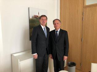 MOAVERO A BRUXELLES: GLI INCONTRI CON I COLLEGHI DI UK CROAZIA E SLOVENIA