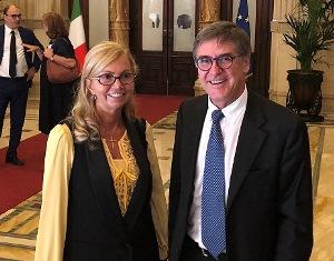NISSOLI (FI) INCONTRA IL DIRETTORE DI RAI ITALIA GIUDICI