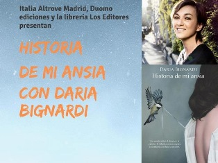 """STORIA DELLA MIA ANSIA: DARIA BIGNARDI A MADRID CON """"ITALIA ALTROVE"""""""