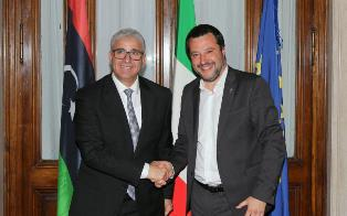 ITALIA – LIBIA: SALVINI INCONTRA FATHI ALI BASHAGHA