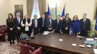 DELEGAZIONE POLITICA DEL SICHUAN IN ITALIA: INCONTRO CON RAPPRESENTANTI DELLA REGIONE CAMPANIA