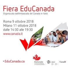 """STUDIARE IN CANADA: TAPPE A ROMA E MILANO PER LA FIERA """"EDUCANADA"""""""