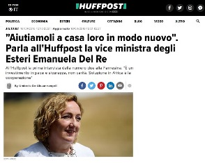 AIUTIAMOLI A CASA LORO IN MODO NUOVO: ALL'HUFFINGTON POST LA PRIMA INTERVISTA DEL VICE MNISTRO DEL RE