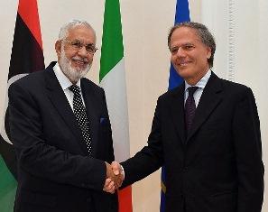 IL MINISTRO MOAVERO MILANESI INCONTRA L'OMOLOGO LIBICO SIYALA