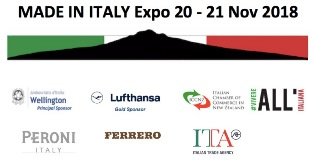 """MADE IN ITALY - EXPO 2018"" IN NUOVA ZELANDA CON LA ICCNZ"